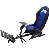 Subsonic - Siège baquet avec support pour volant et pédalier - Cockpit de simulation SRC 500 S pour PS4, Xbox One et PC