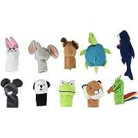 Ikea Titta Djur Animal Finger Puppet - Set of 10 Pc