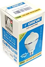 Oreva 10W Sensor-1 Base B22 10-Watt LED Bulb (White)