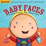 Indestructibles: Baby Faces: Chew Proof - Rip Proof - Nontoxic - 100% Washable (Book for Babies, Newborn Books, Safe to…