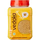 Amazon Brand - Vedaka Jaggery Powder, 1kg Jar