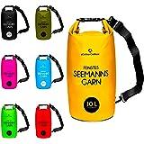 Dry Bag / wasserfester Packsack erhältlich in 2 / 5 / 10 / 20 / 30 / 40 Liter »Seemann« Wasserdichte Trockentasche Seesack Trockensack / Sack - Kajak Kanu Segeln Angeln Schwimmen Strand Bootfahren