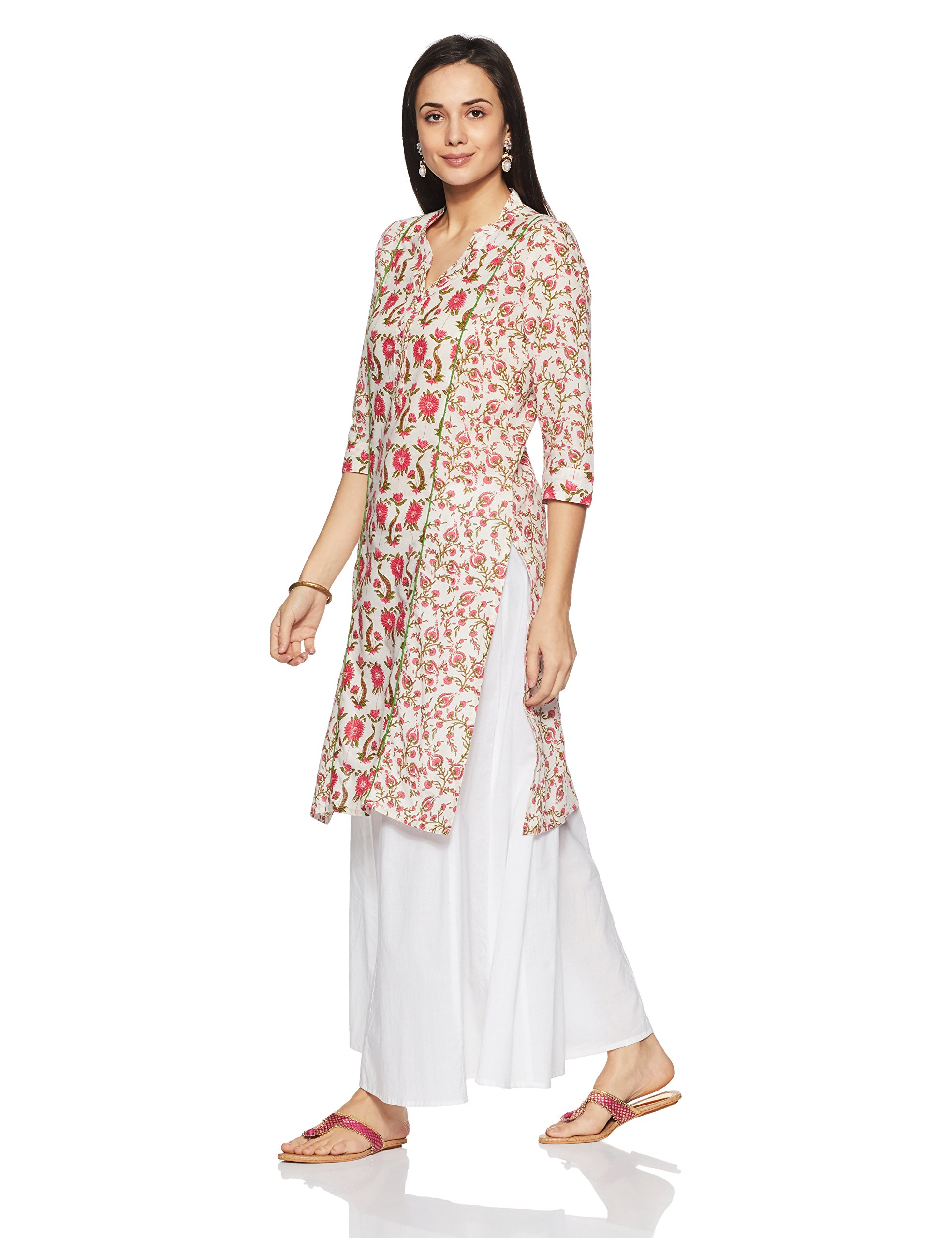 00d43c70e36 Amazon Brand- Myx Women s Straight Cotton Kurta