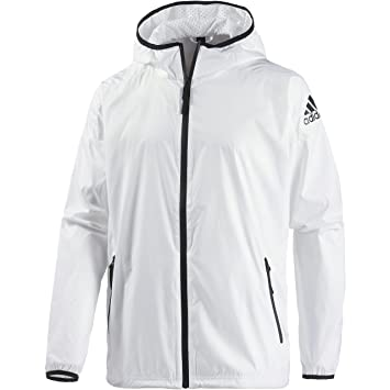 adidas windbreaker mens. adidas zne windbreaker anorak for men, l, white windbreaker mens