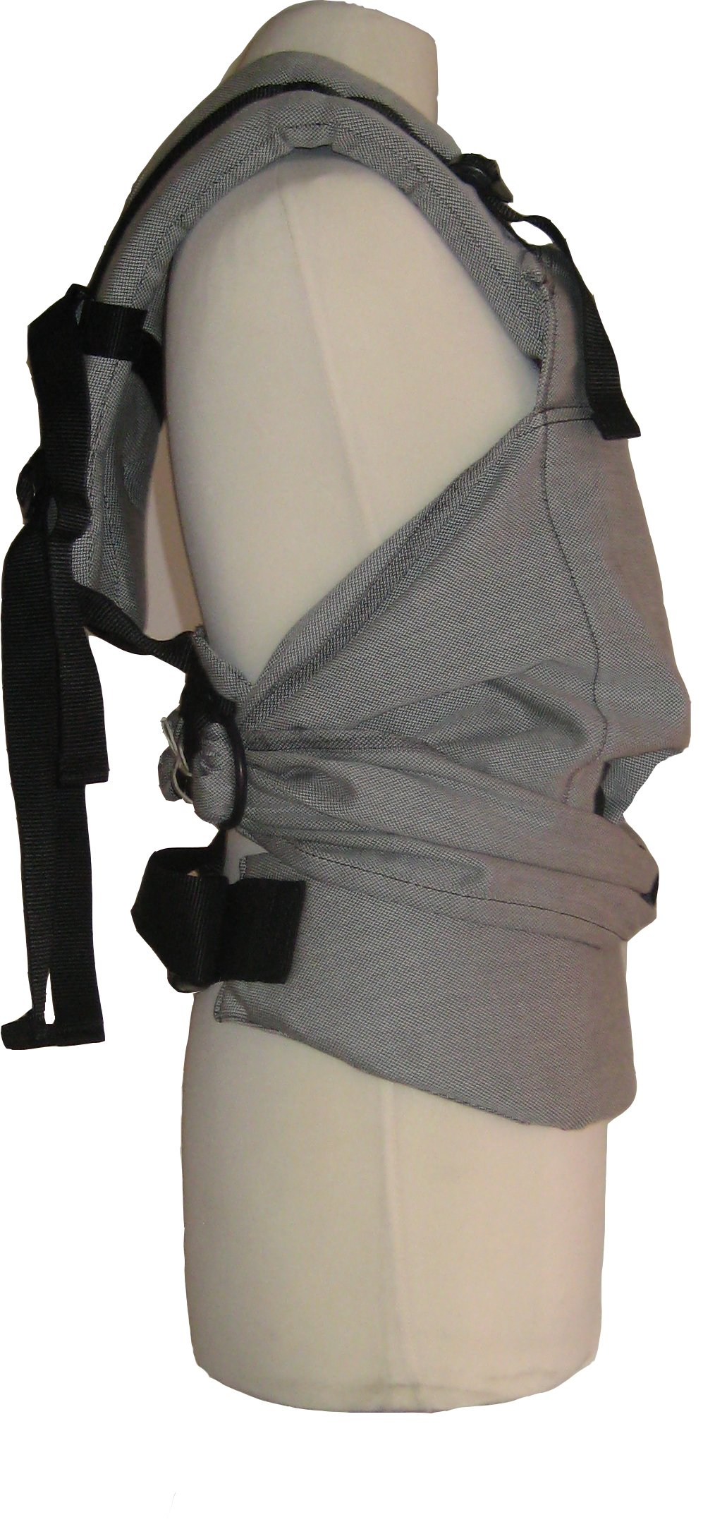 emeibaby Baby Sling and Carrier organic (fully grey) emeibaby