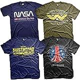 Men's NASA T-Shirt Pack of 4
