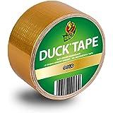 DUCK TAPE 100-36 geweven tape goud, gekleurd plakband voor binnen en buiten, pantsertape om te decoreren, knutselen en te ver