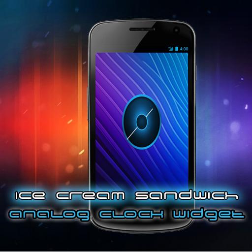 Galaxy Nexus Analog Clock Widget ICS Android 4.0 Ice Cream