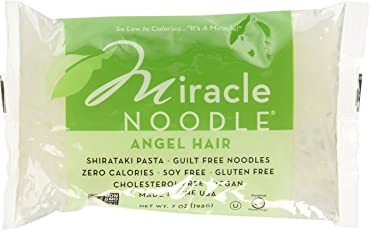 Miracle Noodle Shirataki Angel Hair Pasta 150g (Pack of 6)