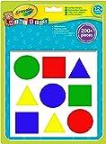 Crayola Mini Kids -9300000 Loisir Créatif - Crayola - Collage - Gommettes Géantes