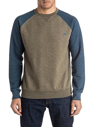 e5465dc69de1 Quiksilver Men's Everyday Sweatshirt, Mehrfarbig (Dusty Olive Gpb0), ...