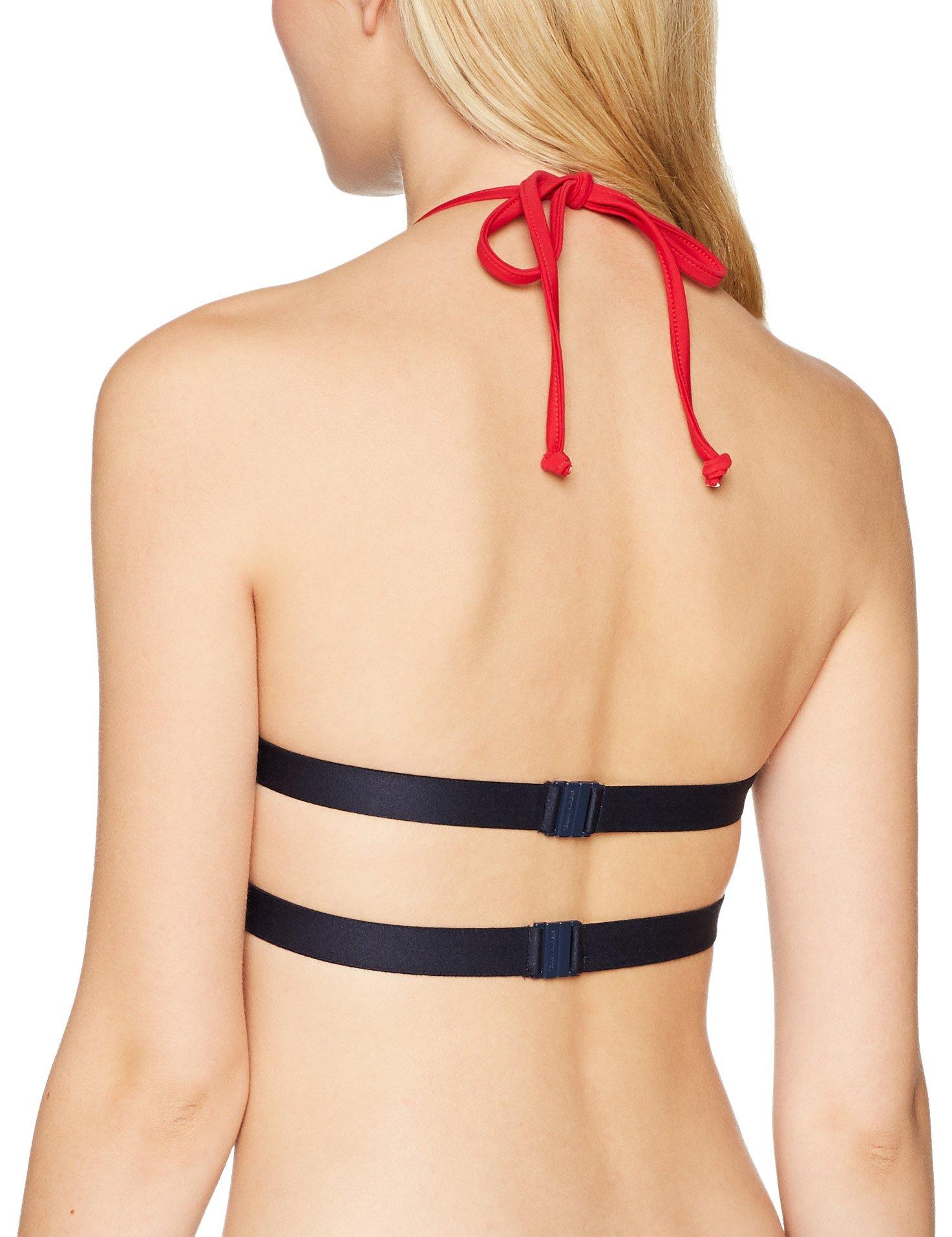 Tommy Hilfiger Crop Top Parte de Arriba de Bikini para Mujer
