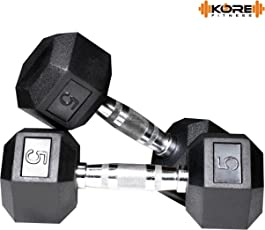 KORE DM-HEXA-COMBO16 Dumbbells Kits