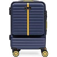 Blisstrip Valise Cabine de Voyage à roulettes Pivotantes, Bagages Rigides et Serrure TSA Intégrée