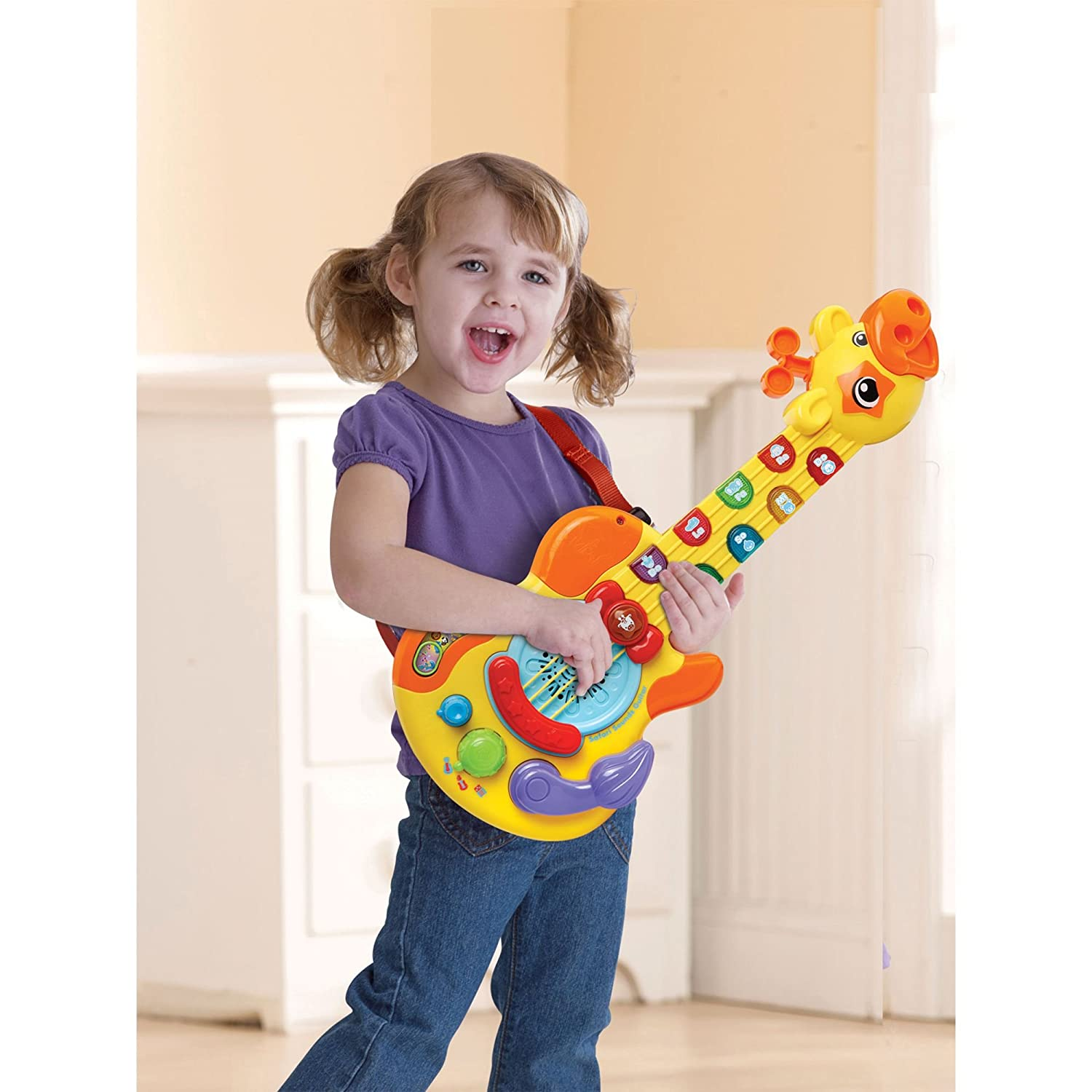Vtech Guitar FFP Activity Toy Amazon Toys & Games
