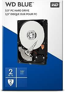Wd Blue 2 Tb 3 5 Zoll Interne Festplatte 7 200 Rpm Computer Zubehör
