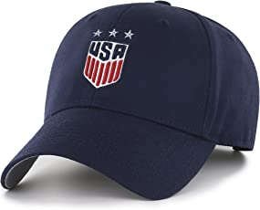 OTS World Cup Soccer United States Women's All-Star MVP Adjustable Hat, Navy, One Size