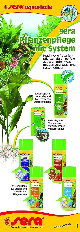 Sera 03260 Florena 500 Ml - Flüssiger Basisdünger Für Prächtige ... Wasserpflanzen Fur Aquarium Auswahlen Pflege
