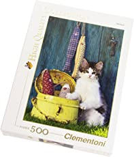 Clementoni 30345.8 - Puzzle High Quality Collection, The Cat, 500 Teile