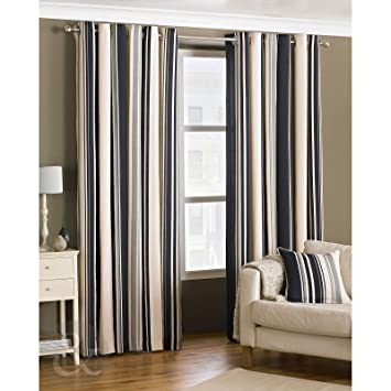Bedroom Curtains black bedroom curtains : Just Contempo Curtain Pair 66