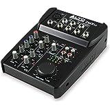 Alto Professional ZMX52 - Mesa de mezclas compacta de 5 canales con calidad de estudio, entrada de micrófono XLR, dos entrada