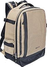 Cosmus Essen Anti-Theft Waterproof Khaki DSLR Camera Backpack