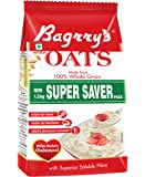 Bagrry's White Oats,1.5 Kg Pouch