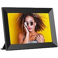 Digitaler Bilderrahmen WLAN FRAMEO 10,1 Zoll HD IPS Touchscreen, intelligenter Bilderrahmen mit 16 GB Speicher…