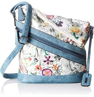 Rieker Damen Handtasche H1302, Mehrfarbig (Weiss MultiFrost Hm3tx