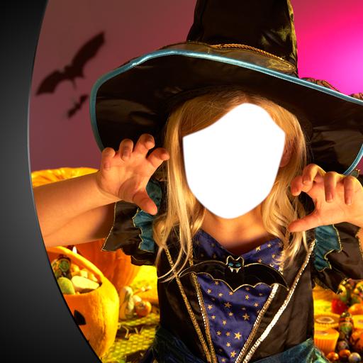 Halloween-Foto-Montage (Halloween Haunted Kostüme)