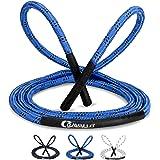 Cravallo® Springtouw I Heavy Battle Rope I 3 meter Fatburner Speed Jumping Rope I Adult Professioneel Skipping Touw I Ideaal