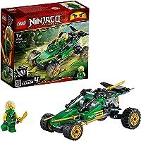 LEGO 71700 Ninjago Le Buggy de la Jungle, Modèle de de Buggy à Construire avec Une Figurine de Ninja