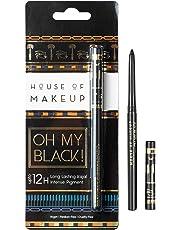 House of Makeup Oh My Black Waterproof and Smudge-free Black Kajal (0.25g)