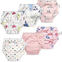 Lot de 6 pantalons d'entraînement pour bébé Sous-vêtements d'entraînement pour enfants Pantalon d'entraînement pour…