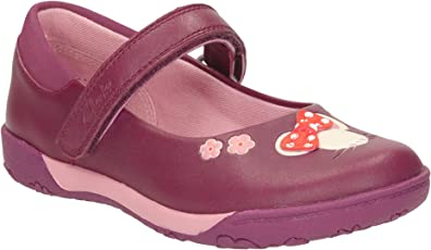 Clarks Girl's NibblesFay Inf Boat Shoes
