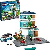 LEGO 60291 City Familiehuis, Modern Poppenhuis Bouwset met Poppetjes, Speelgoed voor Kinderen van 5 Jaar en Ouder
