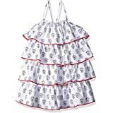 Hatley girls Layered Dress Casual Dress (pack of 1)