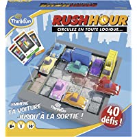 Ravensburger - Rush Hour - Jeu de logique Casse-tête - ThinkFun - 40 défis 4 niveaux - 1 joueur ou plus dès 8 ans…