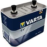VARTA 6V Work Batterij Metal Speciaal – Zink-kool High Performance-blokbatterij 4LR25-2 met 6 Volt – compact en krachtig voor