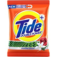 Tide Plus with Double Power Jasmine and Rose Detergent Washing Powder - 1 kg