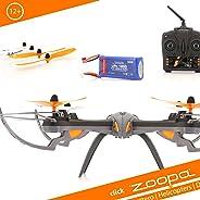 Acme Made zoopa Q600 Mantis - Drones con cámara (Negro, Naranja, Color Blanco, hacia atrás, Adelante, Polímero de Litio)