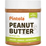 Pintola Organic Peanut Butter (Crunchy) (350g)