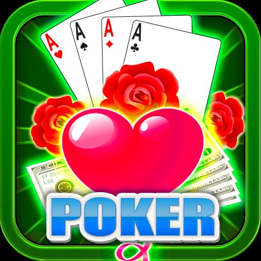Roses Bubble Love Poker HD Free