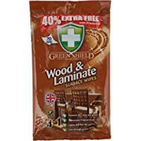 Greenshield Wood & Laminate Wipes 40% Extra 70S