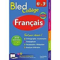 Bled Français Collège - Nouveau programme 2016
