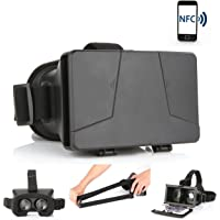 LEAP-HD 2015 NEW UPDATED! VIRTUAL REALITY CARDBOARD TOOLKIT SMARTPHONE VIRTUAL REALITY VIEWER ColorCross Universal…