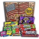 Dolci celesti Americano 100% Scatola per snack e caramelle vegan - Set classico di marchi USA, prelibatezze, regalo…