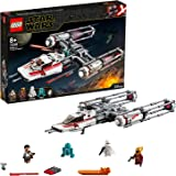 LEGO Star Wars Y-Wing Starfighter della Resistenza, Set da Costruzione dell'Astronave da Battaglia, Collezione L'Ascesa…