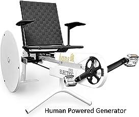 Hans Free Electric 200 W Human Powered Generator, White