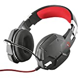 Trust GXT 322 Gaming Headset/Kopfhörer (mit flexiblem Mikrofon, für PS4, Xbox One und PC) schwarz